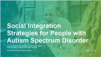 Social Integration Strategies for People with Autism Spectrum Disorder